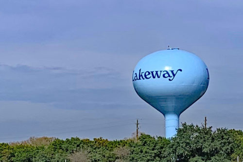 E2 Water Tower Repainting Complete