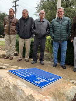 Lakeway Heritage Committee Presents Lakeway Historical Marker to LMUD