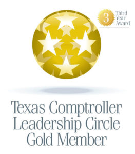 Comptroller Leadership Circle Gold Member – 2012