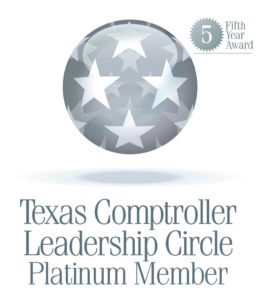 Comptroller Leadership Circle Platinum Member – 2014